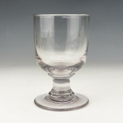 Antique Georgian Glass - Hand Blown Rummer Drinking Glass - Lovely! • 5.50£