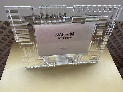 Waterford Crystal Photo Frame Marquis 20cm/15cm • 10£