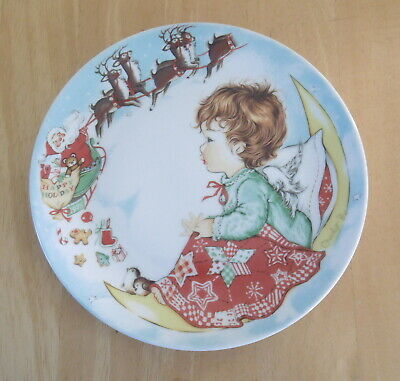 Vintage Goebel Porcelain 1975 Annual Christmas Plate By Charlot Byj • 0.97£
