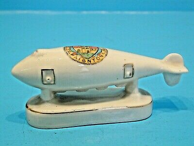 Arcadian WWI Crested China Super Zeppelin - Paignton • 24.99£