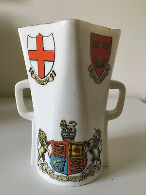Goss 15cm Irish Mather With The Royal Arms Of Queen Victoria • 65£