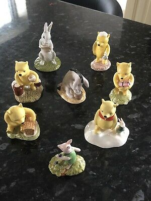 Royal Doulton Figures From The Winnie The Pooh Collection (x8) - Boxed • 85£