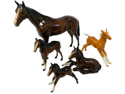 Collection Of Beswick Horses & Foals - Rare And Collectable • 84.99£