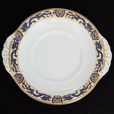 Booths Silicon China  Blue Dragon  Cake Plate 1927. • 19.99£