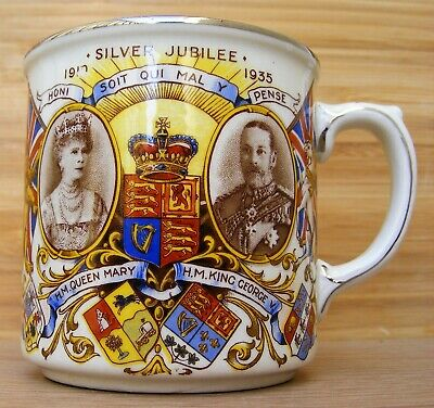 James Kent – Commemorative Silver Jubilee King George V & Queen Mary 1911 – 1935 • 24.99£