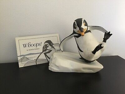 Franklin Mint - Penguins - Whoops With Certificate  • 20£