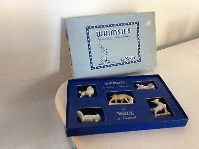 Vintage Wade Whimsies Boxed Set No 1 Perfect • 7.40£