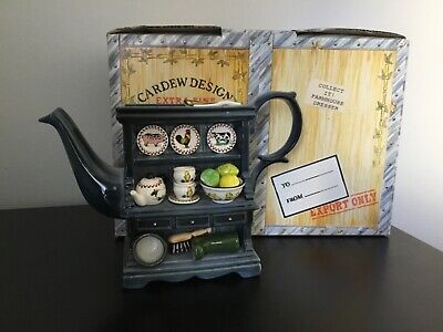 Carded Design - Collect It! - Farmhouse Dresser Teapot Ltd Edition 378/500 Boxed • 35£