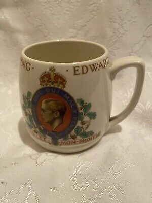 Coronation Mug King Edward V111 • 8£