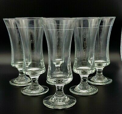 Six Late 19th Early 20th Century Sherry Glasses • 19.99£