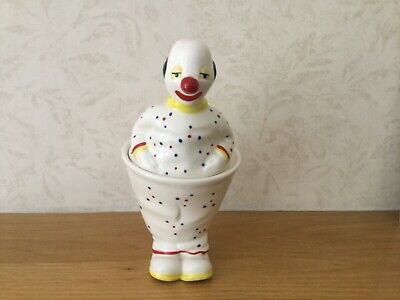 Carlton Ware Circus Series Lustre Clown Preserve Pot And Cover • 59.99£