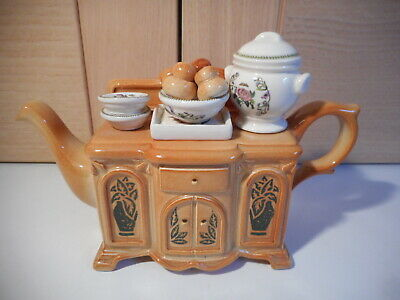 Cardew Portmeirion Botanic Garden One Cup Sideboard Teapot • 15£