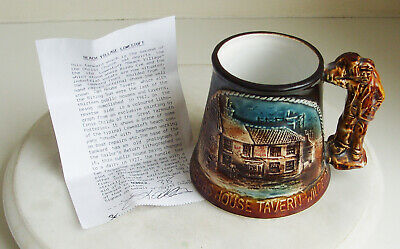 Great Yarmouth Pottery Mug  THE GAS HOUSE TAVERN WILDE ST 38 OF 500 • 8£
