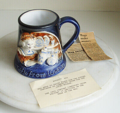 Great Yarmouth Pottery Mug  LOWESTOFT PORCELAIN 1757 119 OF 500 • 8£