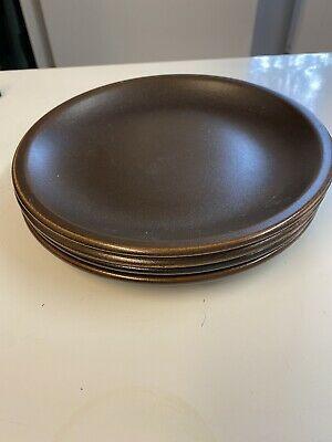 Wedgwood Sterling Plate X4 Vintage Retro So 70's • 5£