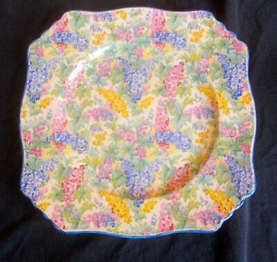 Vintage Royal Winton Chintz Cake Bread And Butter Plate 8.75in  Diameter • 9.99£