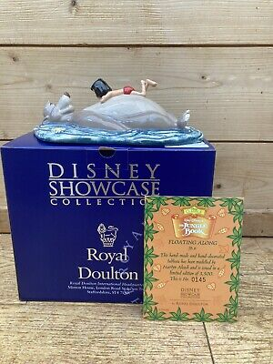 Royal Doulton Disney Showcase Collection The Jungle Book Floating Along Ormament • 89.99£