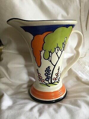 Wade Pottery Jug Japanese Garden Original 1930 S.Wade Heath Design's • 20£