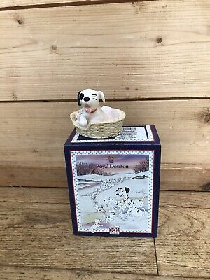 Royal Doulton 101 Dalmatians 01817 Patch In A Basket With Original Box • 9.99£
