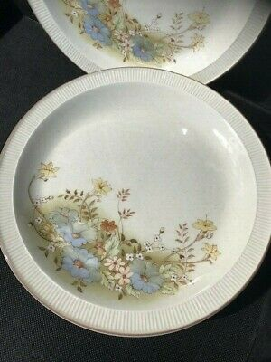 4 Four Vintage Poole Pottery Melbury Dinner Plates  • 6.99£