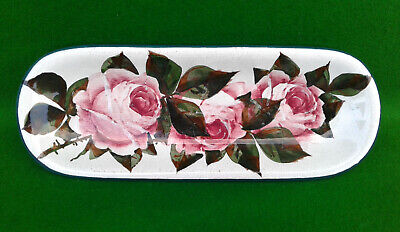 Wemyss For Thomas Goode - Pen Tray - Cabbage Rose Pattern. • 59.99£