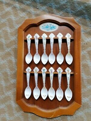Vintage THE FRANKLIN MINT LE CORDON BLEU LE FLEURS DE PROVECE SPOON COLLECTION  • 99£