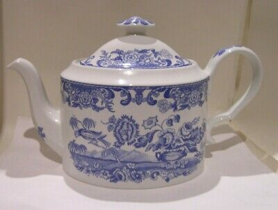 Spode Blue Room Large Teapot  Flower Vase  • 16£