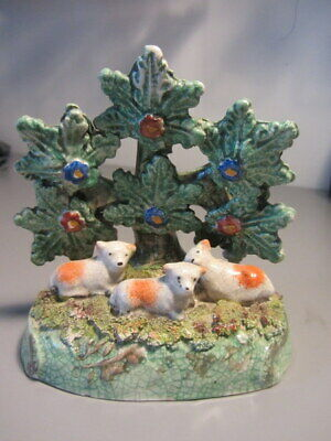 STAFFORDSHIRE SHEEP With BOCAGE  • 19.99£