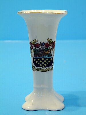 One And All Crested China Vase - Gunnislake • 11.99£