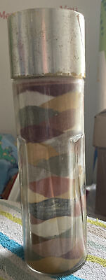 """Very Large Old Vintage Black Sand Isle Of Wight Tower 10.5"""" Tall • 10£"""