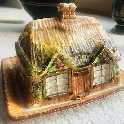 Westminster Cottage Butter/cheese Dish • 16£