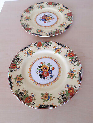 Two Vintage Grindley Tunstall Plates  The Dorothy  • 9.99£