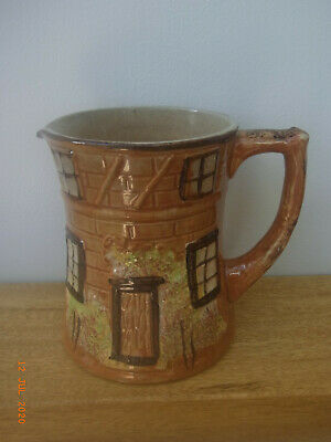 Price Bros Cottage Ware - Pottery Jug - 4½  High • 2.50£