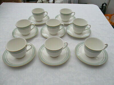 Royal Doulton Berkshire 8 Cups And Saucers Very Good Used Condition • 9.99£