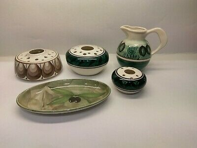Jersey Pottery Collection 5 Pieces • 30£