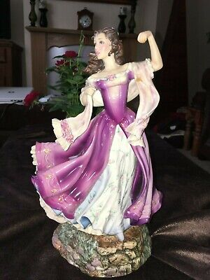 Franklin Mint Limited Edition Porcelain Catherine Wuthering Heights Figure • 50£