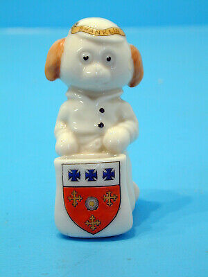 English Crested China Comical Kneeling Pup Posy Holder - Shanklin • 23.99£