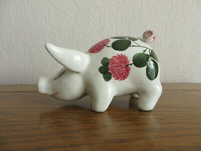 Plichta London Pig With Clover And Very Curley Tail Wemyss Bovey • 19.99£