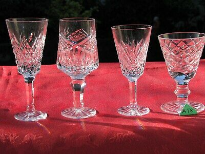 1st QUALITY STUNNING IRISH TYRONE CRYSTAL  3 OFF . PLUS ONE WATERFORD  GLASSES • 17.95£
