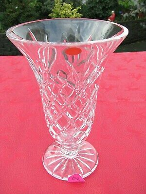 IRISH TYRONE CRYSTAL TALL VASE 1st QUALITY BOWL DISH CENTREPIECE  OTHERS LISTED • 24.95£