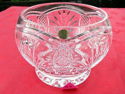 IRISH TYRONE CRYSTAL  DISH BOWL  1st QUALITY CENTREPIECE  OTHERS LISTED • 14.95£