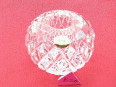 IRISH TYRONE CRYSTAL CANDLE LIGHT HOLDER STICK 1st QUALITY OTHERS LISTED • 7.95£