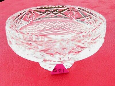 IRISH TYRONE CRYSTAL  1st QUALITY DEEP CUT BOWL DISH CENTREPIECE  OTHERS LISTED • 7.95£