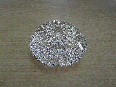 Tyrone Crystal Glass Paperweight • 8£