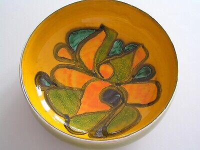 Stunning Large Poole Delphis Bowl (Exc Cond) • 25£