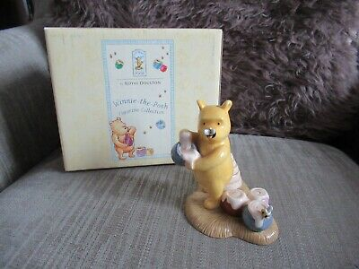 Royal Doulton Any Hunny Left For Me  2003 WINNIE THE POOH Boxed • 39.99£
