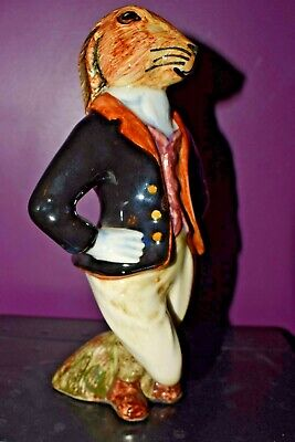 Cinque Ports Pottery Rye Country Gentleman HUGO HARE Figure • 75£