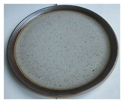 PURBECK POTTERY PORTLAND DINNER PLATE, 10.5in / 26.5cm DIAMETER.  • 4.50£