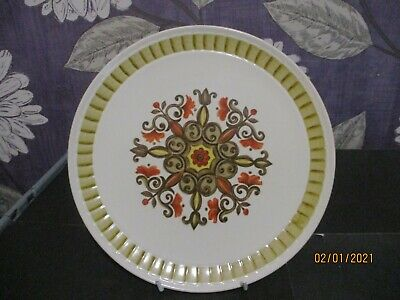 Royal Worcester Palissy Small Dinner / Salad Plate In Marrakesh Pattern 9'' Dia • 1.50£