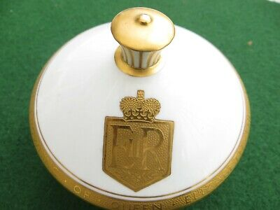 Minton Bone China Trinket To Commemorate The Crowning Of The Queen In 1953 • 20£